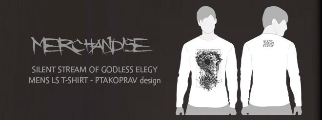 pánské triko s dlouhým rukávem - design PTAKOPRAV